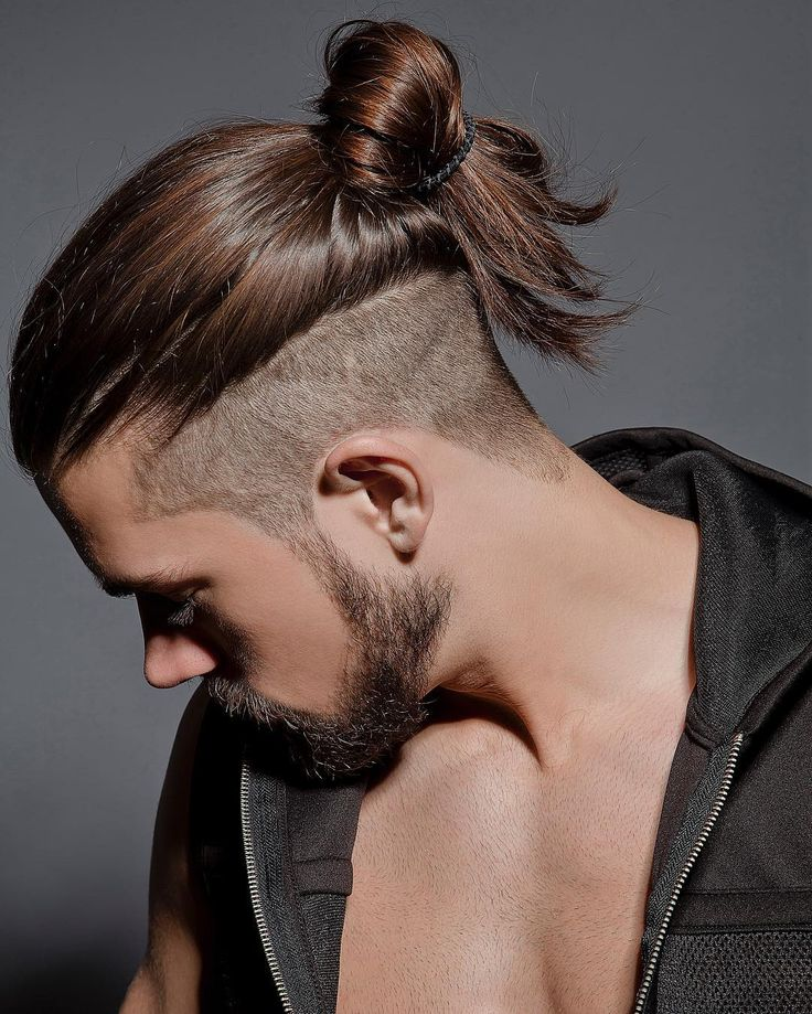 cool 50 Eye-catching Men's Ponytail Hairstyles - Be Different Check more at http://machohairstyles.com/best-ponytail-hairstyles/