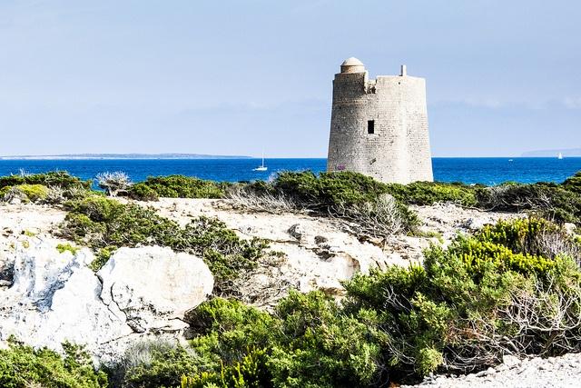 torre de ses portes / salinas #ibiza