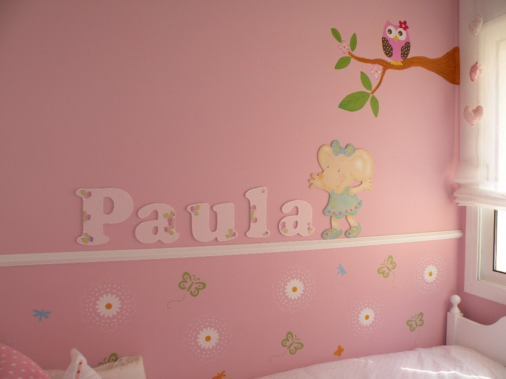 Un mural para paula es divertido decorar una habitaci n for Ideas para decorar mi recamara