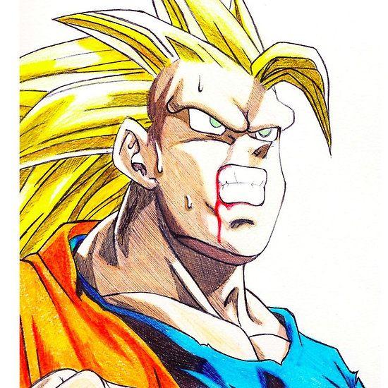 Angry Ass Saiyan #dragonballz #anime #manga #saiyan #goku #super