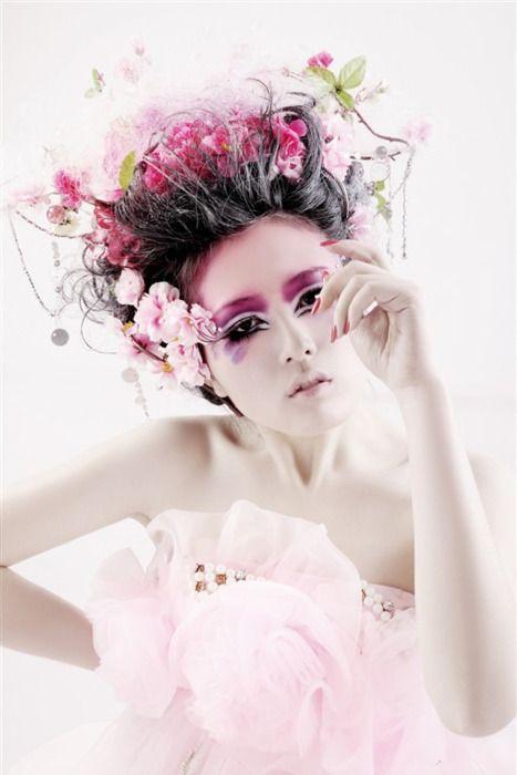 Avante garde, fantasy floral