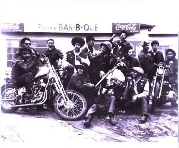 When Sonny Barger formed the Oakland Hells Angels in 1957, a few miles up East 14th Street in East Oakland, a young black bike rider from Louisiana named Tobie Gene Levingston was soon to follow in his footsteps. The two knew and respected each other, and had ridden their Harleys together in the same East Bay neighborhood. In 1959, Tobie Gene organized the Dragons, a loosely knit, all-black men's club, one of the first of its kind.