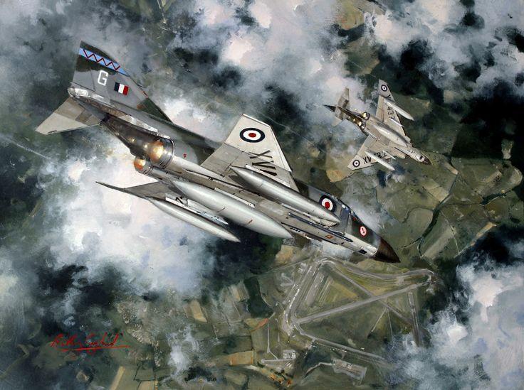 Phantom FGR2 in 1969 6 Squadron