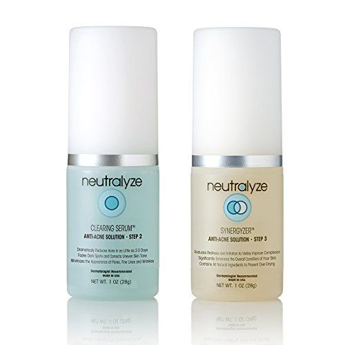 Neutralyze Moderate to Severe Acne Treatment  Maximum Strength Anti Acne Medication Clearing Serum 1 Ounce  Synergyzer 1 Ounce * See this great product.