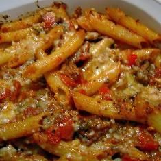 Baked Mostaccioli For A Crowd Recipe  with 19 ingredients