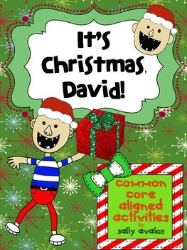 It's Christmas, David! Activities for K-2nd Grade, {Common