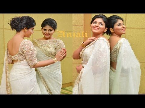 South Hot Anjali Latest Spicy Saree Photoshoot Video http://edlabandi.com/66417-south-hot-anjali-latest-spicy-saree-photoshoot-video.html