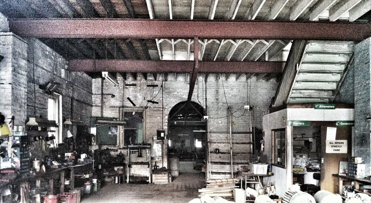 Decades of work in the old shop to be cleared...