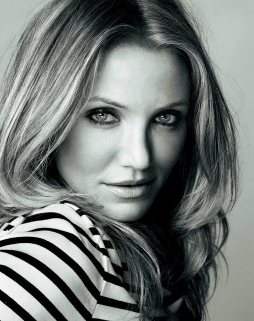 """Cameron Diaz: """"My dad always used to tell me that if they challenge you to an after-school fight, tell them you won't wait-you can kick their ass right now."""""""