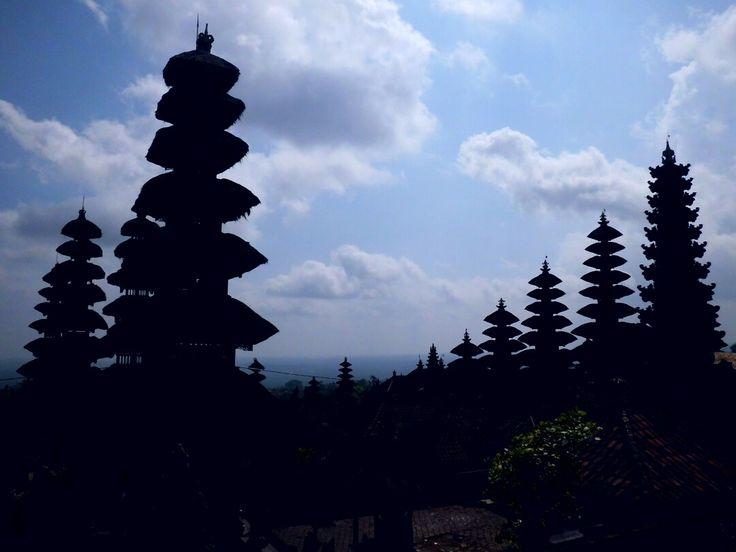 Pura Besakih. Karangasem, Bali-Indonesia 11/10/2015
