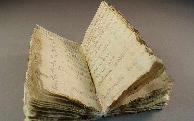 photo via Antarctic Heritage Trust Last year, a notebook belonging to a member of the Terra Nova Expedition, the ill-fated final Antarctic expedition of British explorer Robert Falcon Scott, was di...