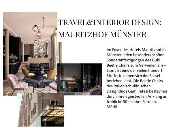 Travel&Interior design: Mauritzhof Münster