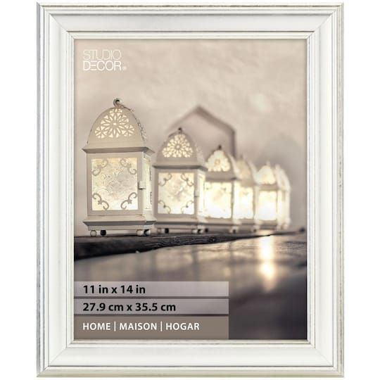 Vintage Silver Frame Home Collection By Studio Decor 11 X 14 Michaels Home Collections Interior Design Themes Small Picture Frames