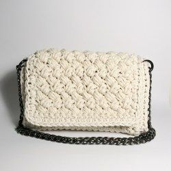 ARIELLA SPLASH CROCHET BAG