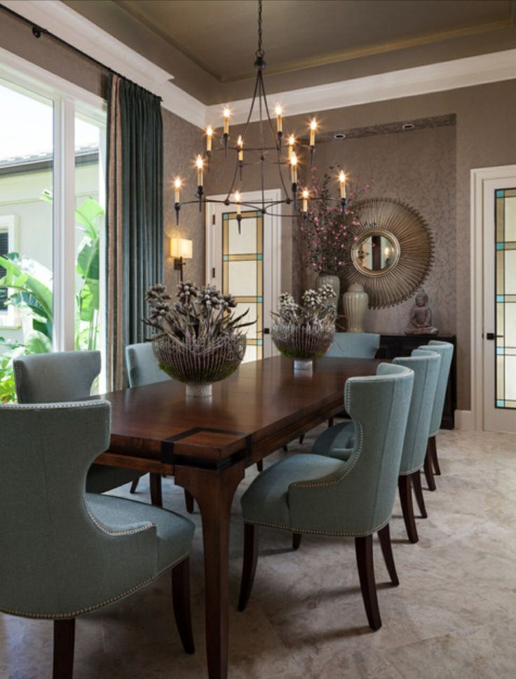 17 best images about dream dining rooms on pinterest for Best wallpapers for dining rooms