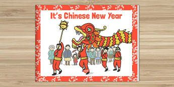It's Chinese New Year Story eBook - festival, celebration, Understanding the World, Literacy