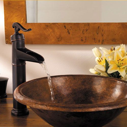 Details about 14″ Bathroom Sink Faucet Oil Rubbed Bronze Lavatory One Hole/Handle Mixer Taps