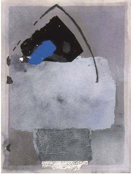 "Giuseppe Santomaso - "" Timbri del colore n. 8"",  Style: Art Informel"