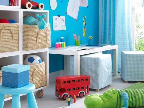 guardar juguetes en habitación infantil