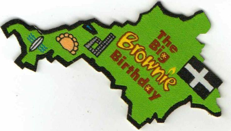 girlguiding brownie centenary badge