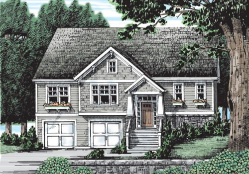 1000 images about craftsman style house plans on for Summerlake house plan