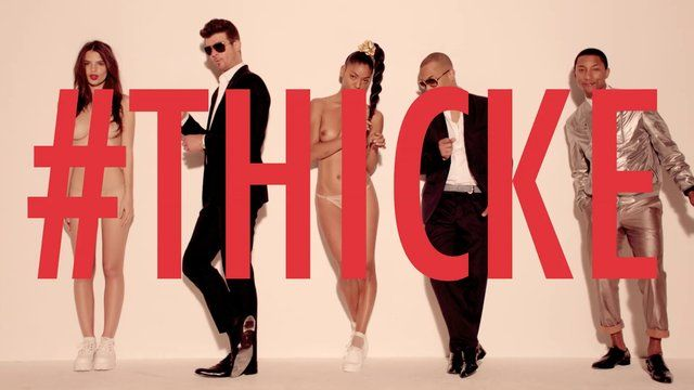 "Robin Thicke ""Blurred Lines"" [Dirty]"