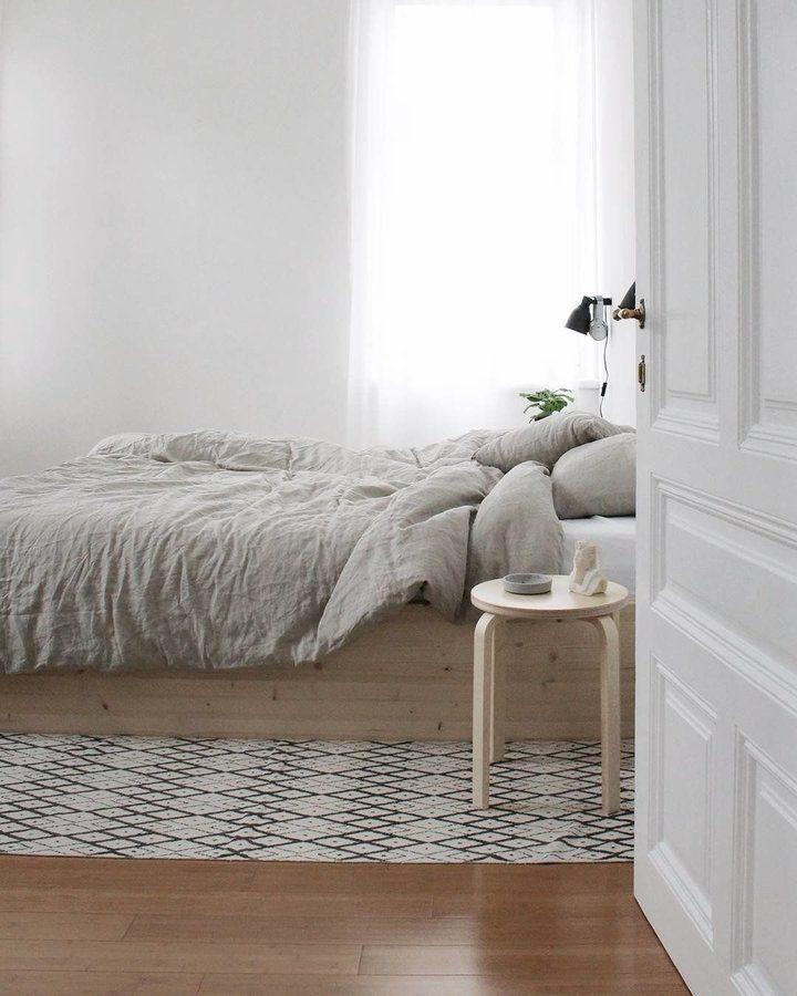 358 besten #Schlafzimmer Bilder auf Pinterest - schlafzimmer weiß grau
