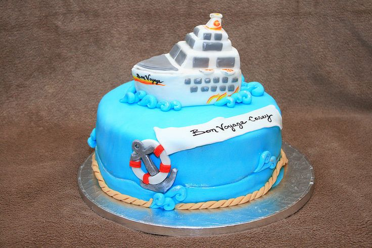 Cake Decorating Ideas Bon Voyage : 17 Best images about Moose cruise cake on Pinterest Full ...