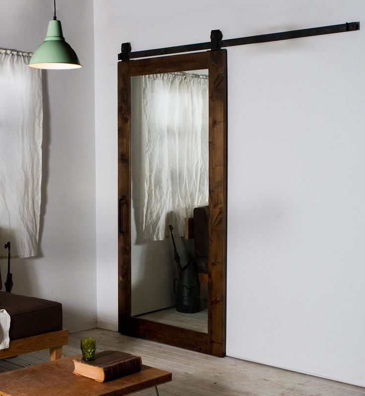 the 25 best sliding mirror doors ideas on pinterest mirrored barn doors full length mirror. Black Bedroom Furniture Sets. Home Design Ideas