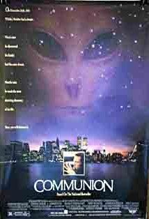 Communion was the first alien-related thing Cole remembers freaking him out.