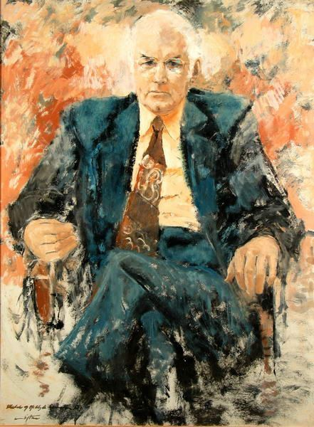 Clifton Pugh ~ Portrait of Clyde Cameron