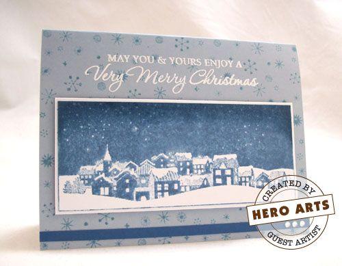Hero Arts Christmas Stamps
