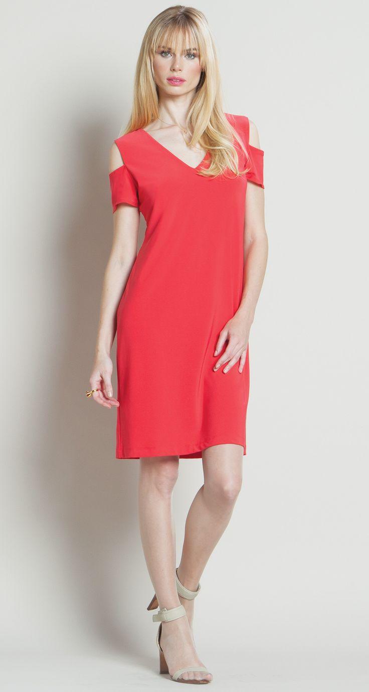 Clara Sun Woo Cold Shoulder Dress Dresses Travel Clothes Women Cold Shoulder Dress