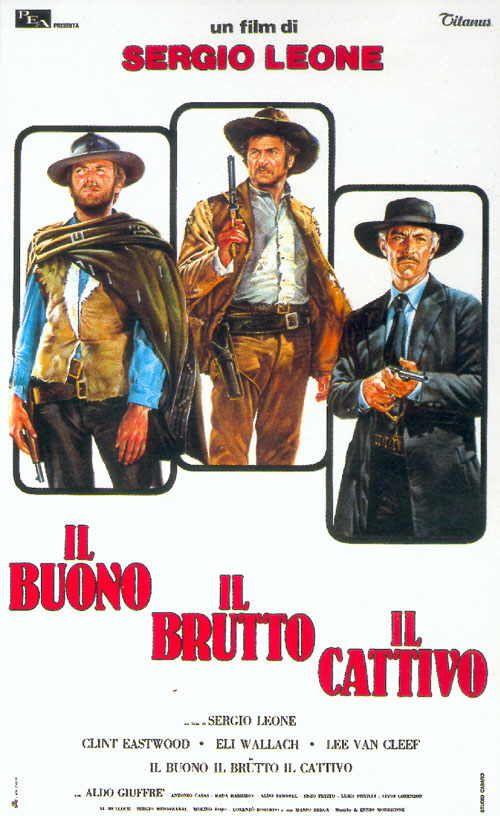 Il buono, il brutto e il cattivo, 1966.
