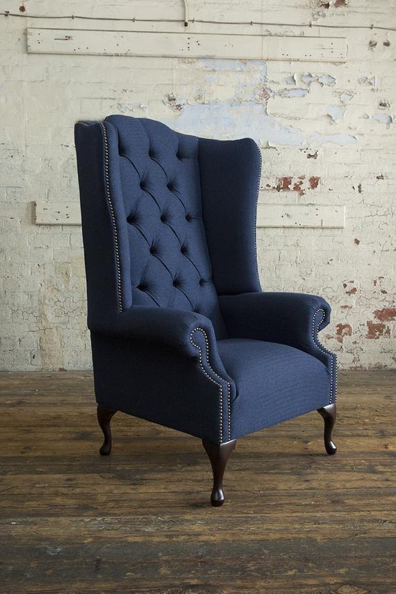 Single Sofa Chair, Wing Back Sofa