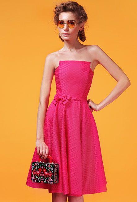 Открытое короткое корсетное платье | Open short corset dress