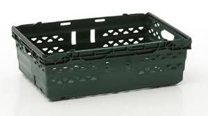 Image result for folding lid plastic crate