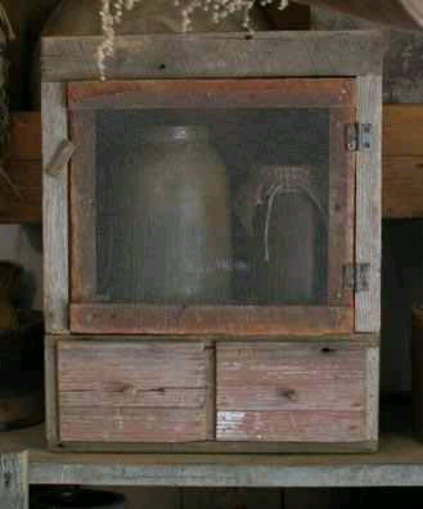 Primitive Pie Cabinet