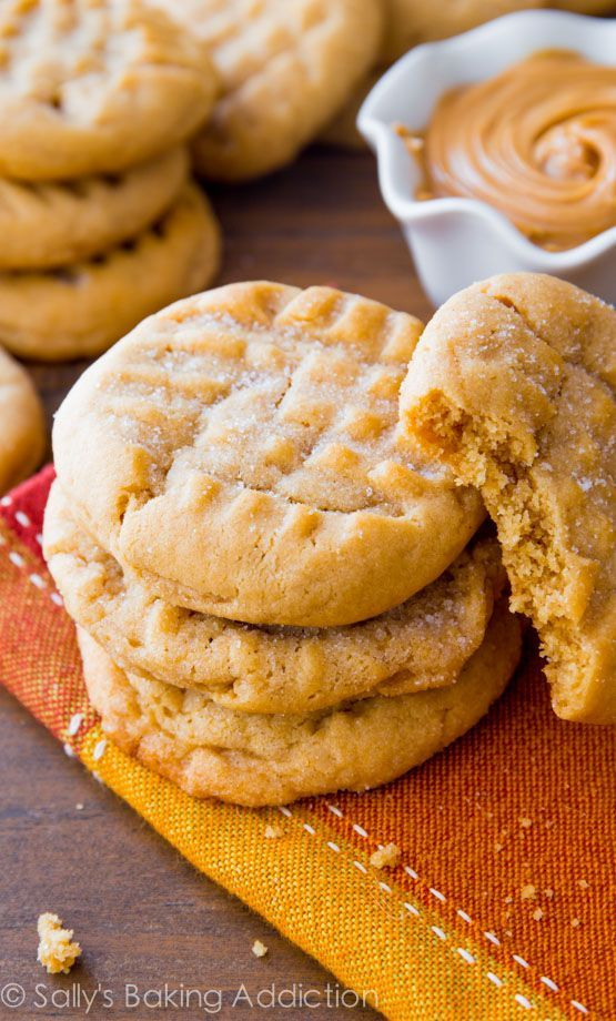 Peanut butter lovers rejoice! This cookie is for you.