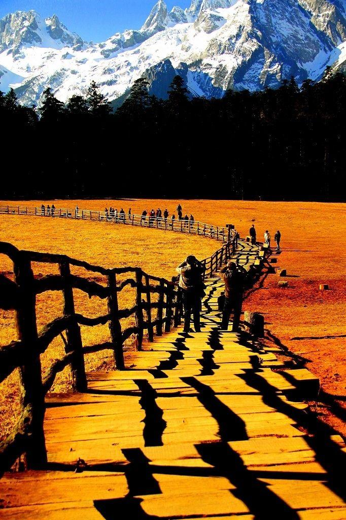 Snow Dragon Mountain, Lijiang, Yunnan, China | by Tay Bir Lim on 500px
