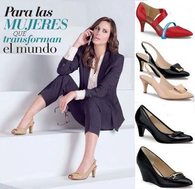 Catalogo Zapatos Andrea para la Oficina. Calzado para el trabajo, zapato de moda para mujer, tacones para el trabajo, calzado de damas