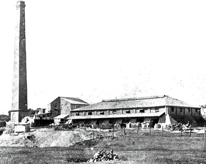 The Standsure Brickworks St Peters 1922