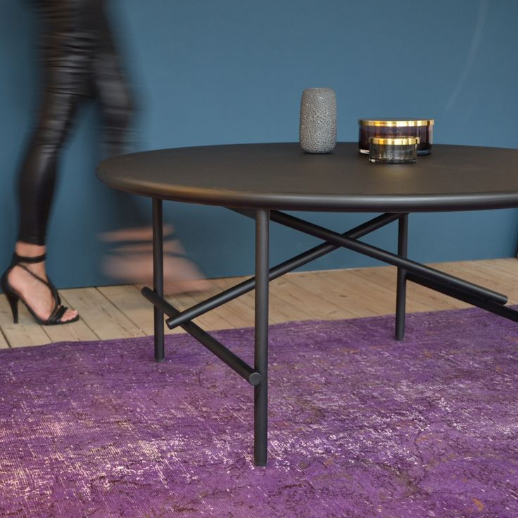 New Tab coffee table from YLE collection by Peter Boy Design #coffeetable #newdanishdesign #yle #black #møbler #furniture