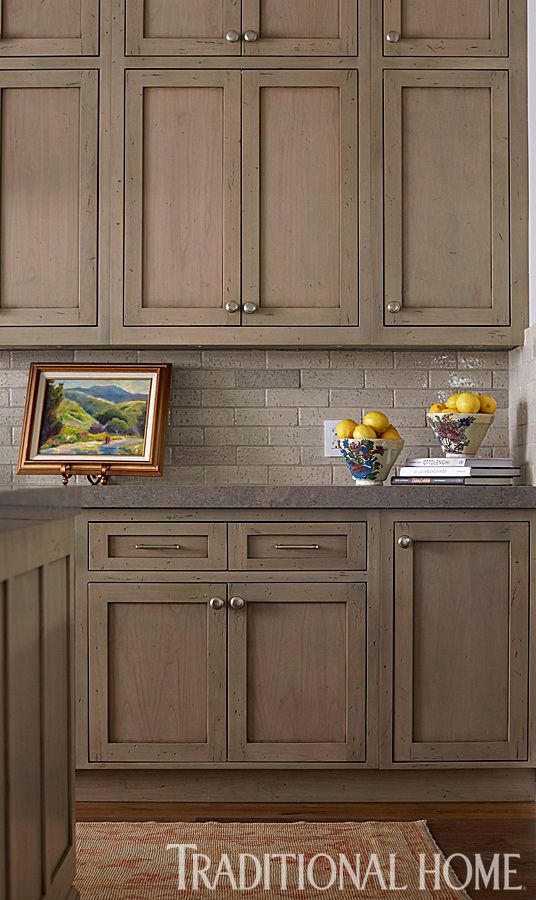 Best 25+ Taupe kitchen cabinets ideas on Pinterest | Beige kitchen cabinets, Neutral kitchen ...