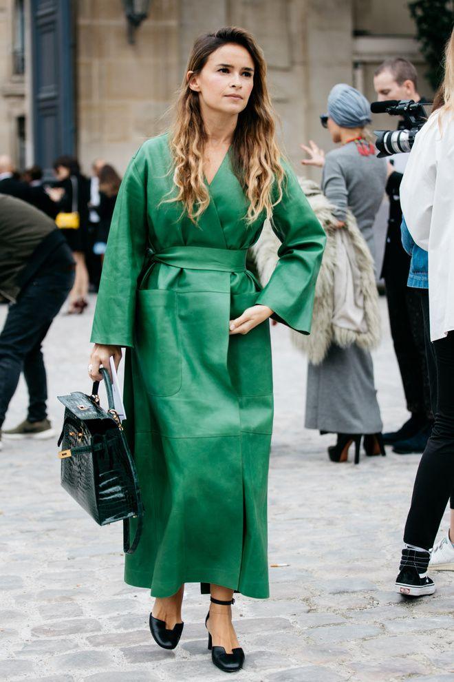 Street Style At Paris Fashion Week Spring Summer 2017