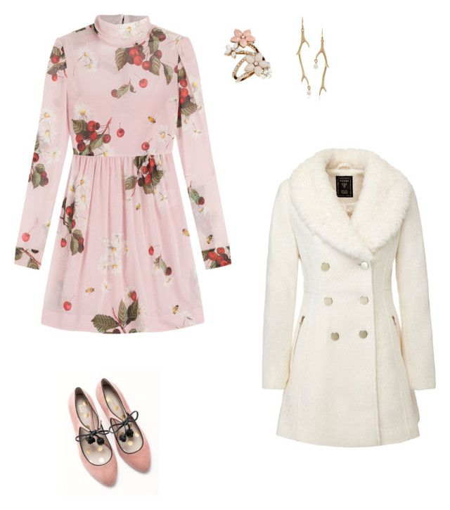 """Untitled #58"" by petricaiacob on Polyvore featuring RED Valentino, Boden, Accessorize and Annette Ferdinandsen"
