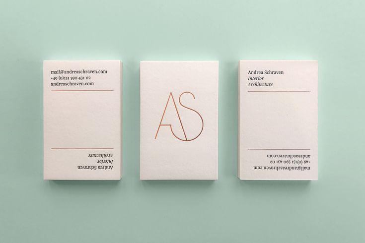 A.S. Interior Architect / Identity, Web