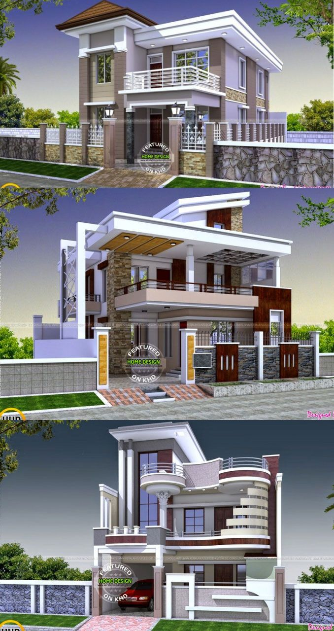 15 Two Story House Perspectives For Inspiration House Roof Design Bungalow House Design Architect Design House