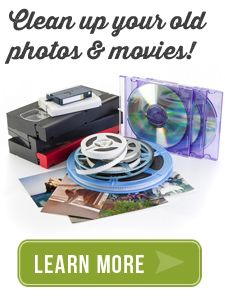 Transfer all your old movies and VHS tapes to dvd.