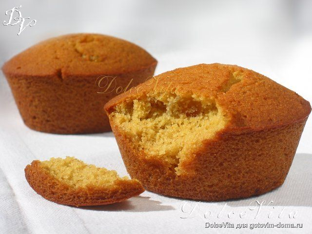 Медовые кексы, яблочные маффины и ещё 2 постных рецепта... • Выпечка